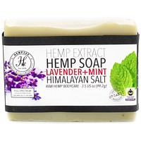 Lavender Mint Hemp Extract Soap