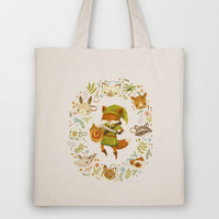 The Legend of Zelda: Mammal's Mask Tote Bag by Teagan White | Society6