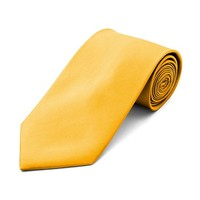 Solid Ties / Multiful color Formal Tie-Yellow