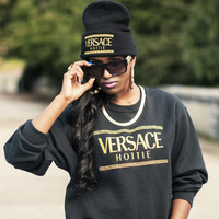 QUEENS — Hottie Crew - Black/Gold