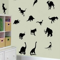 15 Dinosaurs - G Direct Wall Stickers