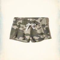 Girls Reverse Terry Curved Hem Shorts | Girls Bottoms | HollisterCo.com