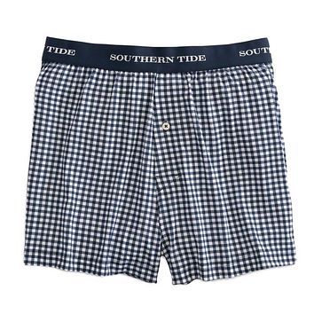 Gingham Performance Boxer by Southern Tide