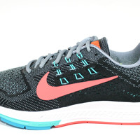 Nike Women's Structure 18 Black/Pink Running Shoes 683738 001