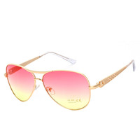 2016 New Arrival Women Aviation Sunglasses Gradient Lens Vogue Eyewear Ladies Classic Sun Glasses Oculos de sol Feminino PA0478