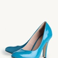Rosemary Pumps In Teal