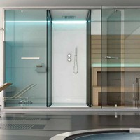 Sauna / turkish bath ETHOS by Sauna Vita | design Franco Bertoli