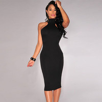 Sexy Sleeveless Bandage BodyCon Party Dress