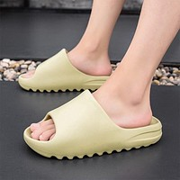 2021 New Men's Slippers Indoor Home Summer Beach Outdoor Slides Ladies Slipper Platform Mules Shoes Woman Flats Zapatos De Mujer