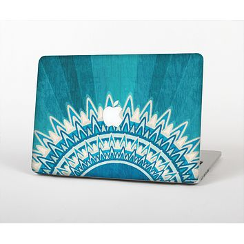 """The Blue Spiked Orb Pattern V3 Skin for the Apple MacBook Air 13"""""""