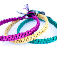 Stackable Hemp Bracelets