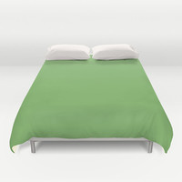 Bud Green Duvet Cover - 7BB661 - Twin, King Queen Size Duvet - Green Blanket - Green Duvet - Green Bedding
