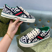 GUCCI GG Women's Canvas Sneakers Shoes