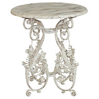 One Kings Lane - Francophile Style - Alice Side Table