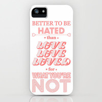 I Am Not A Robot ; Marina and the Diamonds (alternative) iPhone & iPod Case by Marvin Fly