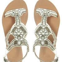 ASOS FRENCHIE Flat Sandals
