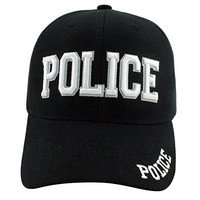 Enimay Law Enforcement Velcro Hat's Police Black