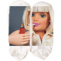 Shady Barbie Socks