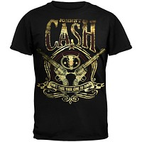 Johnny Cash - Guns To Town T-Shirt
