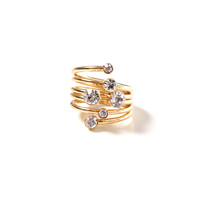 Champagne Fizz Ring - Gold