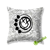Blink 182 Music Quote Square Pillow Cover
