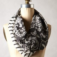 Monochrome Mix Infinity Scarf by Anthropologie White One Size Scarves