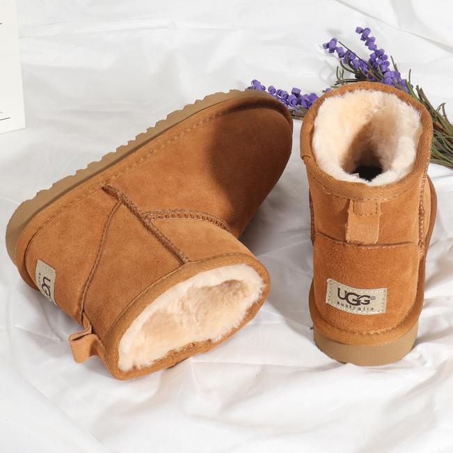 Image of UGG Men Women Fashion Wool Snow Shoes Boots