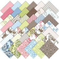 """Moda Windsor Lane Charm Pack 5"""" Quilt Squares 2840PP   AihaZone Store"""