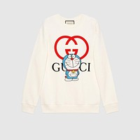 Doraemon x Gucci cotton sweatshirt