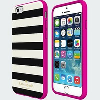 kate spade new york Flexible Hardshell Case for iPhone 6 - Candy Stripe