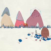 A4 PRINT - Mountains I collection
