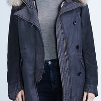 Snow Parka in Fade Black - Denim - CITIZENS of HUMANITY