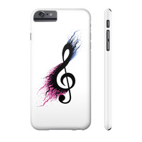 Music sign spill Phone Case