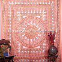 Psychedelic Hippie hippie Mandala Tapestries, Queen Bedspread, Indian Tapestries, Bohemian wall Hanging, Indian Mandala Tapestries, Decor