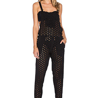 Essentials Bendito Laurel Overall in Black