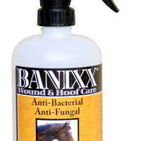 Banixx Wound & Hoof Care Spray For Bacterial & Fungal Infections - 16 oz.