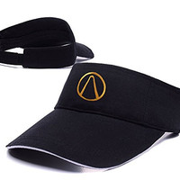 DEBANG Borderlands Logo Adjustable Visor Cap Embroidery Sun Hat Sports Visors