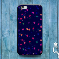 iPhone 4 4s 5 5s 5c 6 6s plus + iPod Touch 4th 5th 6th Generation Cute Blue Pink Red Heart Lights Christmas Cool Phone Case Pretty Cover