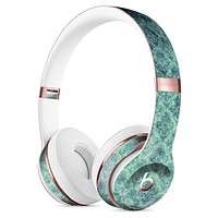 Micro Vintage Navy Rococo Pattern Full-Body Skin Kit for the Beats by Dre Solo 3 Wireless Headphones