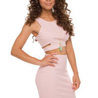 Down To Earth Skirt - Pink