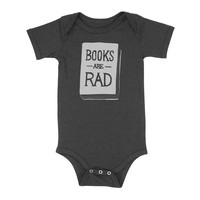Books Are Rad - One Piece - Various Colors