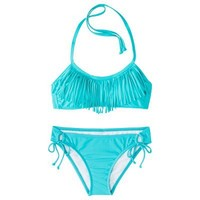 Junior's Fringe 2-Piece Swimsuit -Assorted Colors