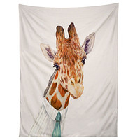 Animal Crew Mr Giraffe Tapestry