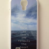 Proverbs 27:19 Android Galaxy Case