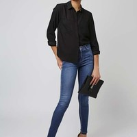 MOTO Pansy Blue Leigh Jeans - Jeans - Clothing