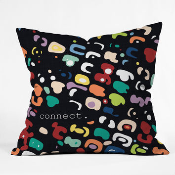 Sharon Turner Connect Throw Pillow