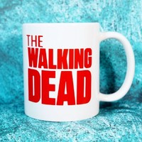 THE WALKING DEAD Coffee Mug. 11 oz. Coffee Cup. Can be used as a Travel Mug.