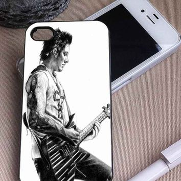 Syn Gates   Avenged Sevenfold   iPhone 4 4S 5 5S 5C 6 6+ Case   Samsung Galaxy S3 S4 S5 Cover   HTC Cases