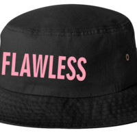 beyonce FLAWLESS bucket hat template