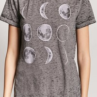 Moon Phases Graphic Tee